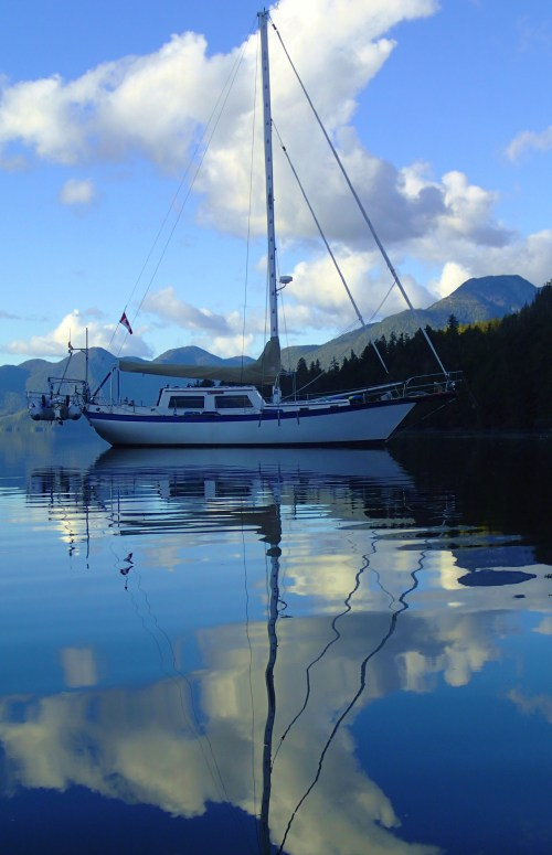 Seafire Dreaming some dark and stormy nights it's hard to remember perfect moments like this in Clatse Sound