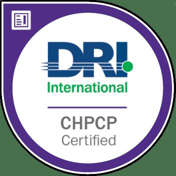 Chpcp Certification Dri International