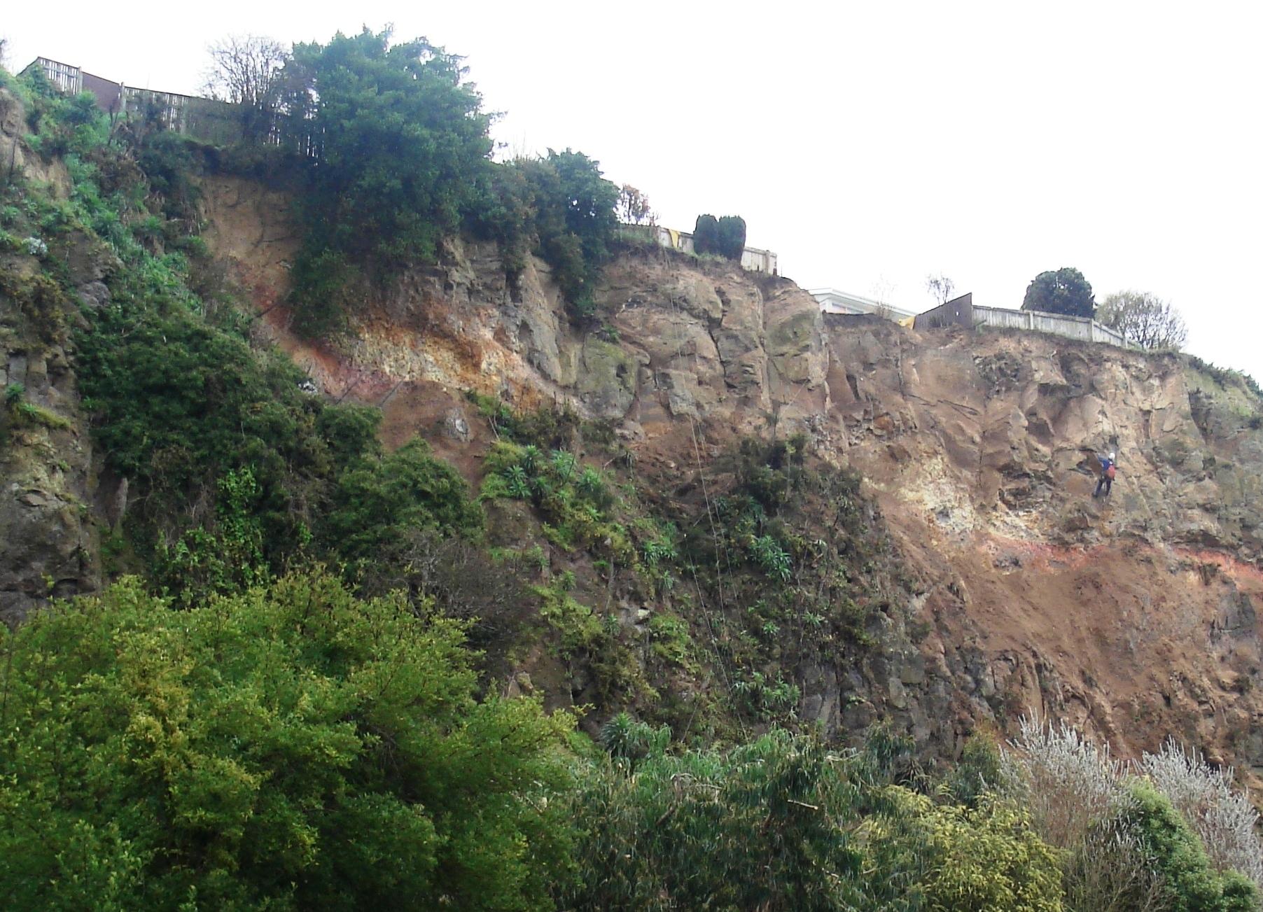 JC church on arrival after landlide (c) DAS