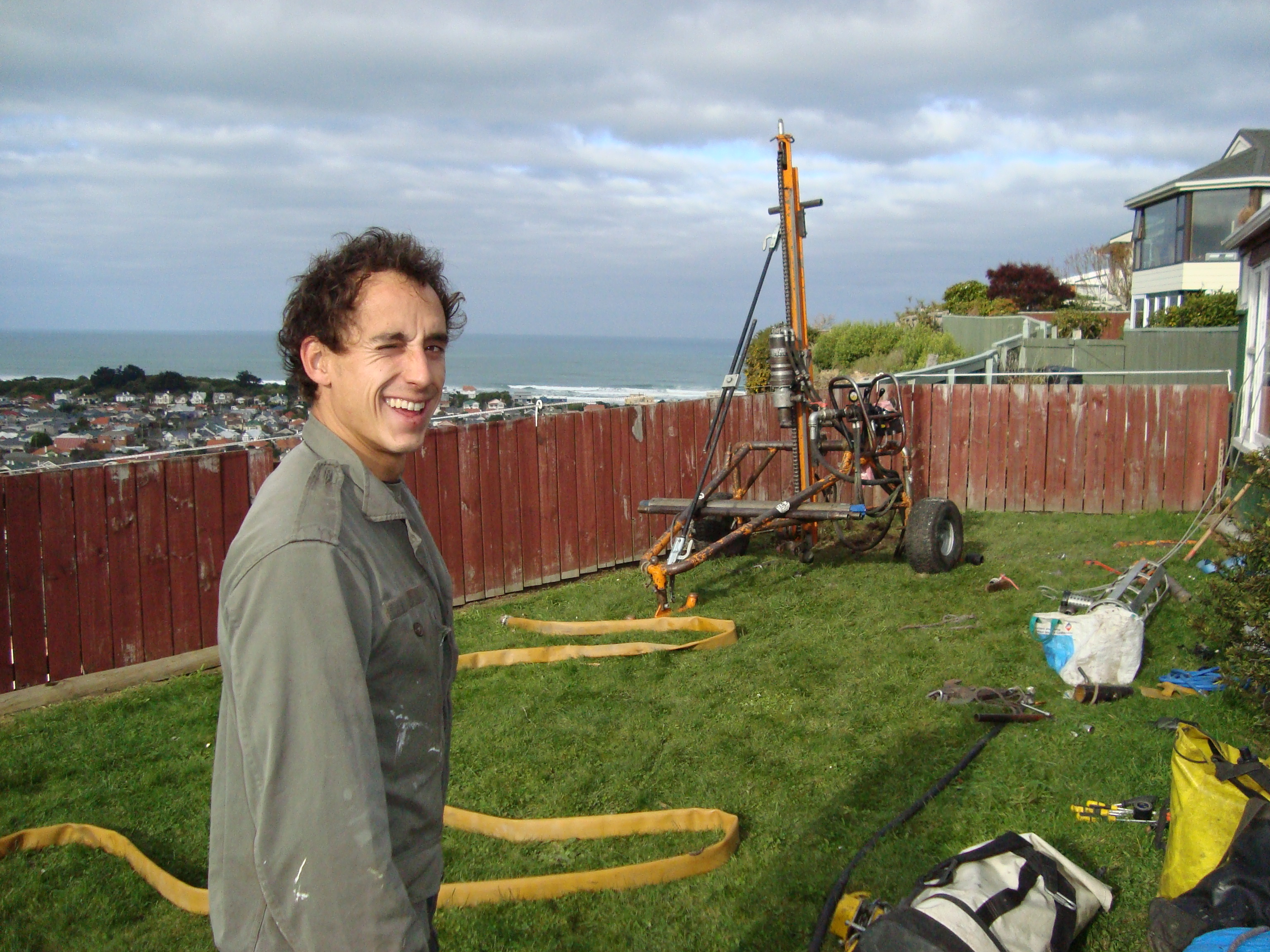 Thanks for your help Benoit ; Good drilling in New Caledonia!