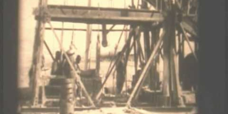 Nevada first oil well
