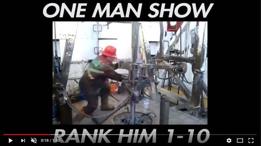 One man show image