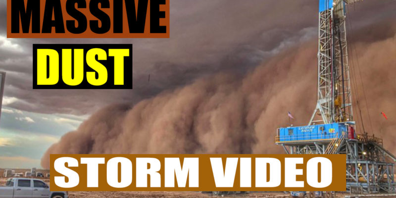 Massive Dust Storm Video
