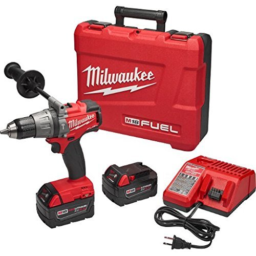 Milwaukee 2704-22 M18 Fuel 12 Hammer DrillDriver Kit