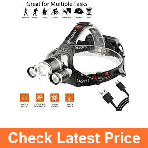 Ousili Headlamp Flashlight