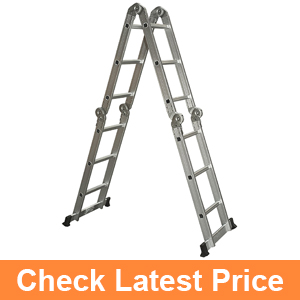 Best Choice Products Multi Purpose Aluminum Ladder
