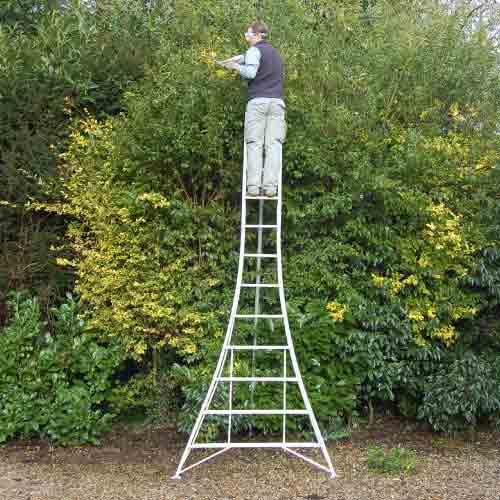 tripod ladder for garden