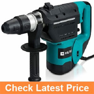 Hiltex-10513-1-12-Inch-SDS-Rotary-Hammer-Drill--Includes-Demolition-Bits,-Flat-and-Point-Chisels.