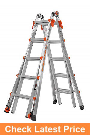 Little-Giant-22-Foot-Velocity-Multi-Use-Ladder,-300-Pound-Duty-Rating,-