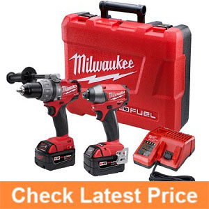 Milwaukee-2797-22-M18-Fuel-Lithium-2-Tool-Combo-Kit-includes-Hammer-Drill.
