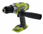 Ryobi P214 ONE 18-Volt 12 in. Cordless Hammer Drill