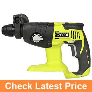 Ryobi-P221-18-Volt-ONE+-SDS-Plus-Rotary-Hammer-Drill-(0)