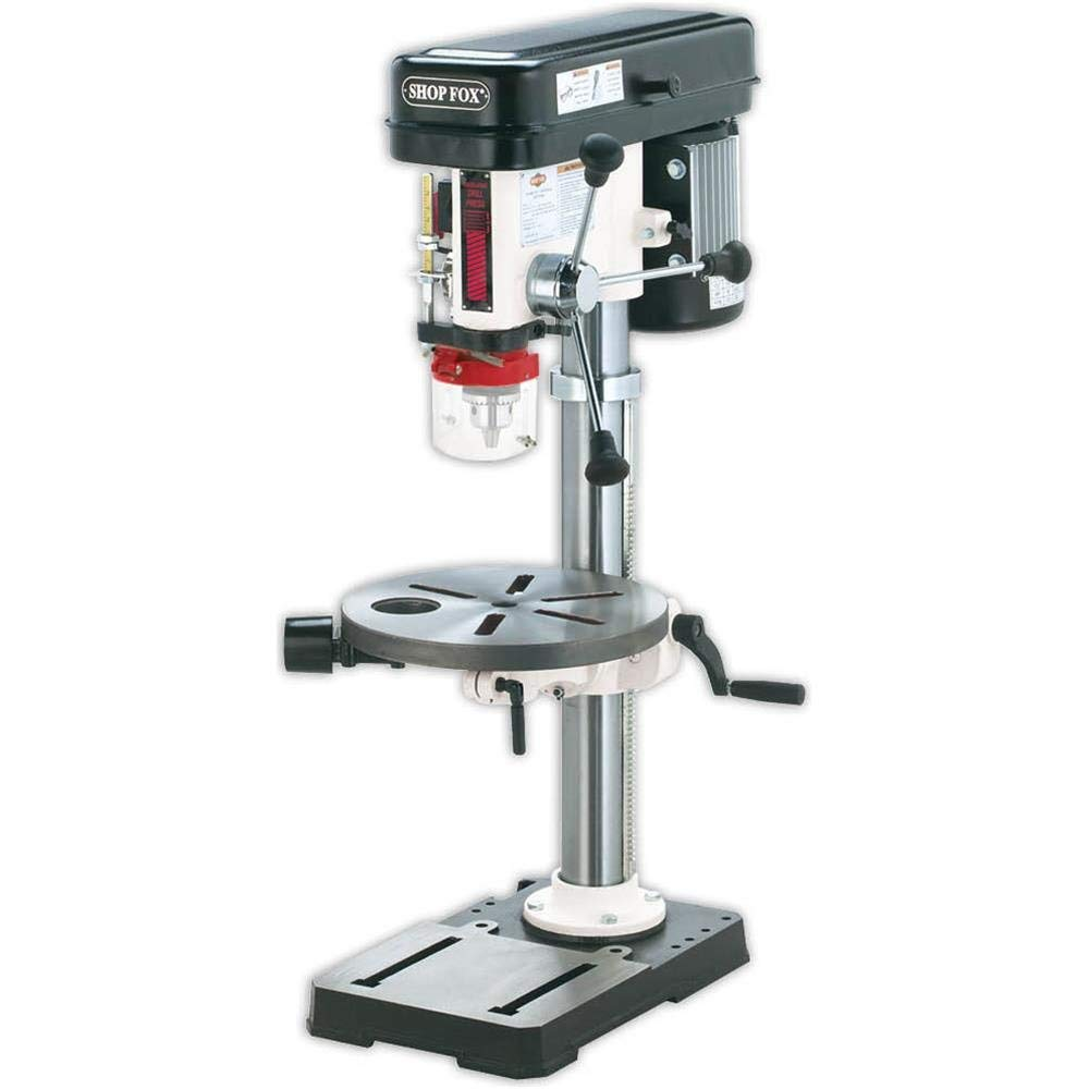 Shop Fox W1668 34 HP Bench-Top Oscillating Drill Press
