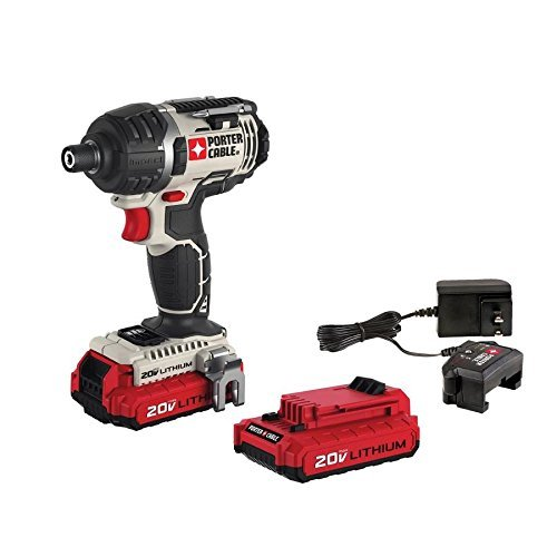 PORTER-CABLE 20V MAX Cordless Impact Driver Kit