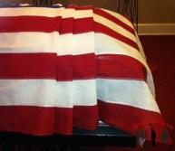 Open Casket Flag