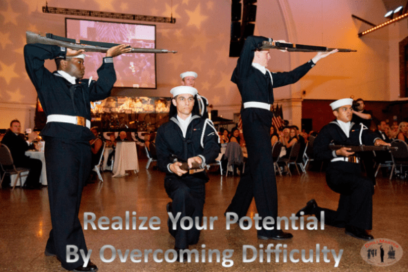 Drill Posters- Overcome Difficulty