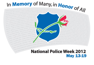 National Police Week, honor guard training