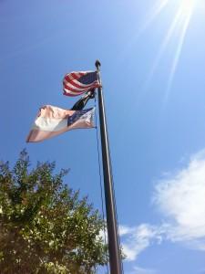 Flagpole 2 Halyards