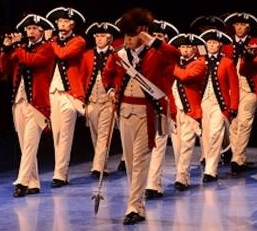 Left Salute Fife Drum Major