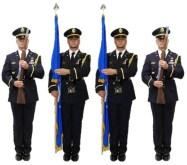 Honor Guard Color Guard at Port