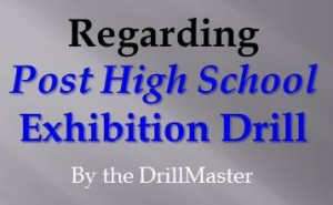 Post High School Drill
