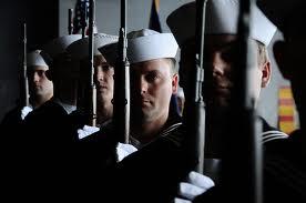 Navy Honor Guard from Flikr