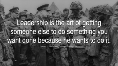 Eisenhower on Leadership