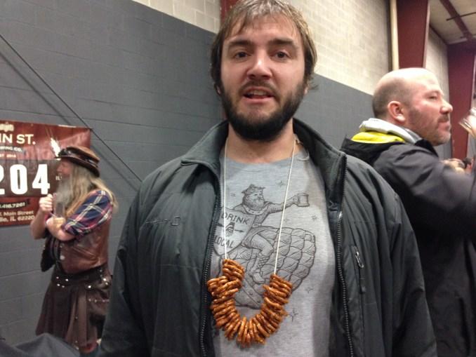 """""""The pretzel necklace"""""""
