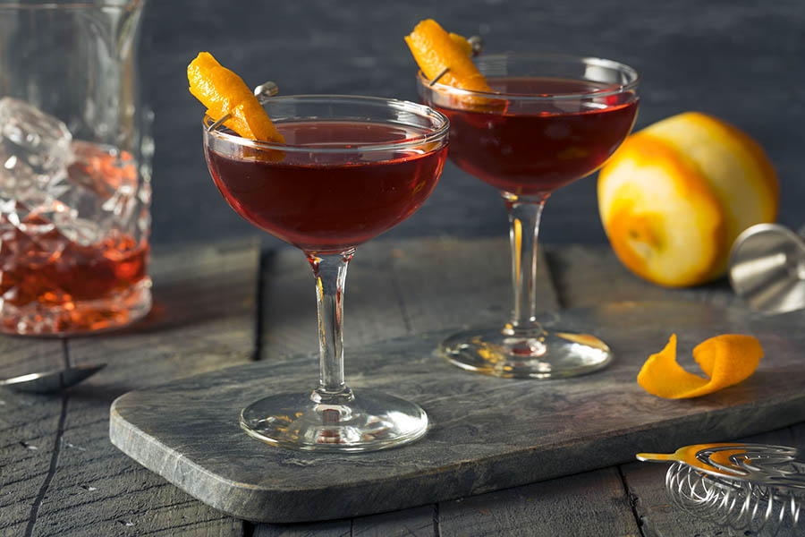 Boulevardier Cocktail negroni
