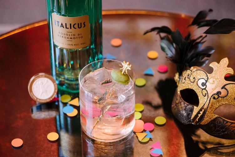 rugantino cocktail carnevale