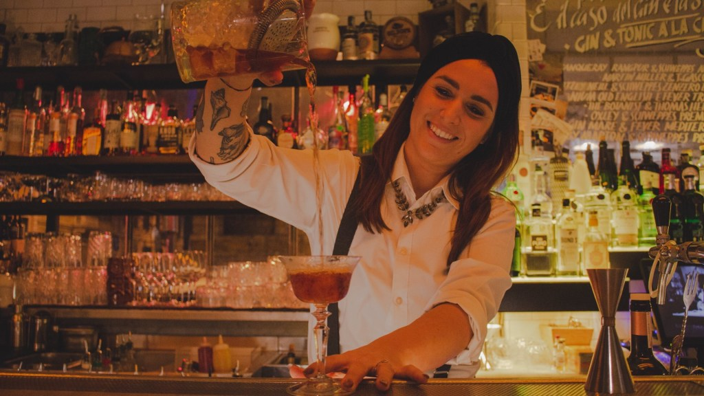 Ilaria Migliorini barlady La Zanzara di Roma 1