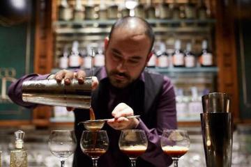 Daniele De Fazio, proprietario e bar manager del 'To New York Restaurant and Cocktails' di Marano di Isera TN