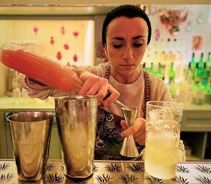 Valentina Guglielmino bartender La Punta Expendio De Agave di Roma