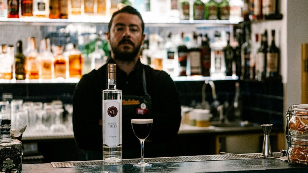 Antonio Laselva bartender