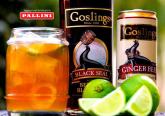 Drink Dark 'n Stormy con Gosling Rum e Ginger Beer