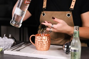 Moscow mule_vodka