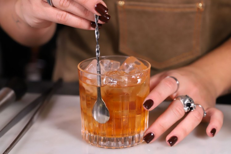 Old fashioned_ricetta drink