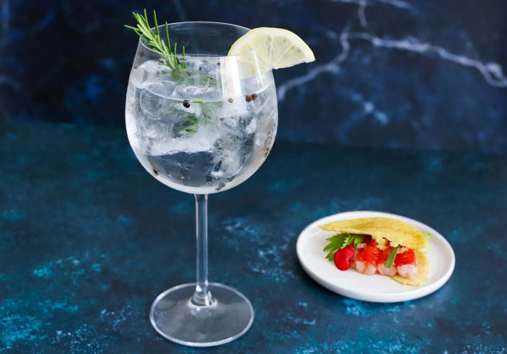 gin tonic abbinamento farinata