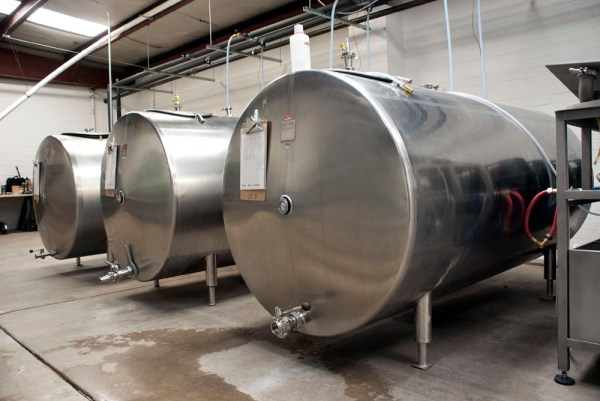 Pigeon Head Lager Tanks