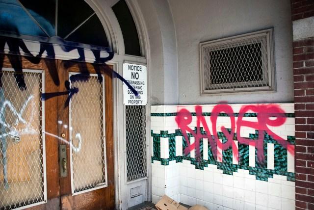 The depot graffiti