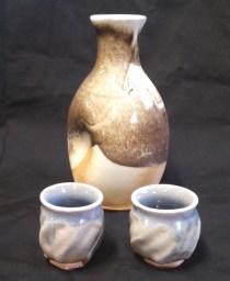 Sake set by Joe Winter. Photo by Joe Winter.