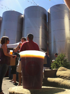 Great Divide Brewing Fermenters