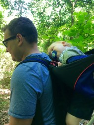 What happens when you skip nap time to go on a hike