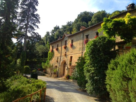 Exploring on our tour of Tuscany