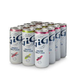 GiG Hard Seltzer Twelve Pack Compressed