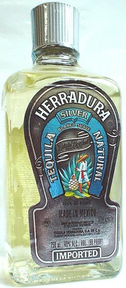 Tequila Herradura Silver (2008)