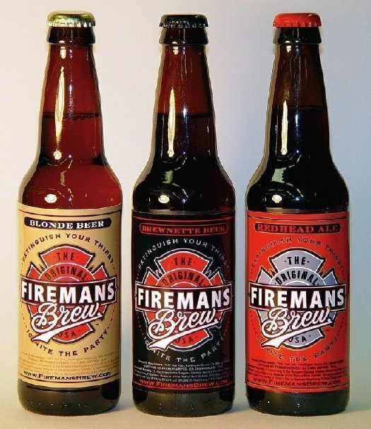 Firemans Brew Blonde Beer