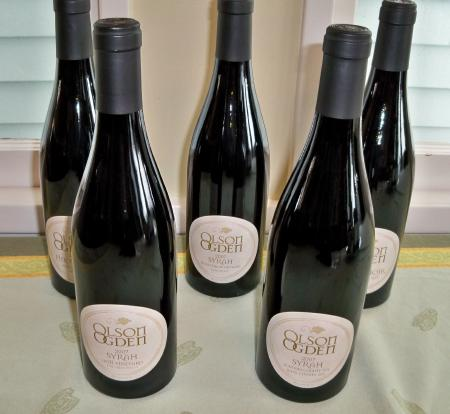 2007 Olson Ogden Wines Sonoma and Napa Syrah