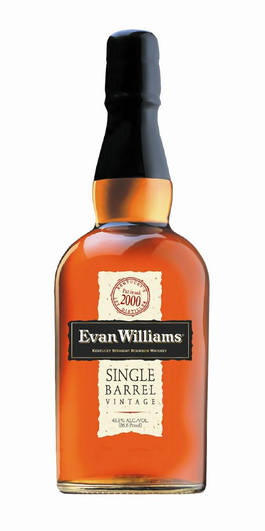 Evan Williams Single Barrel Bourbon 2000 Vintage