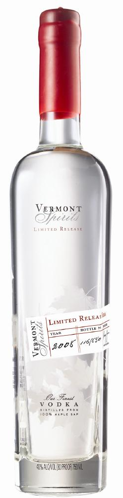 Vermont Spirits Limited Release Vodka
